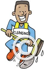 Street Cleaning Charaicter
