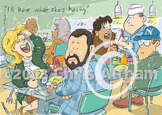 harry met sally cartoon