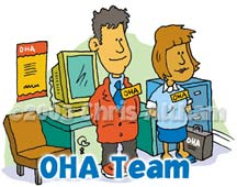 oha team cartoon