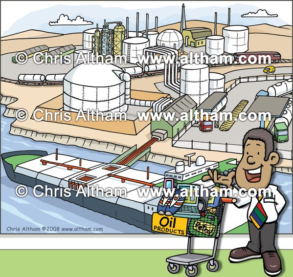 oil refinery consumables education