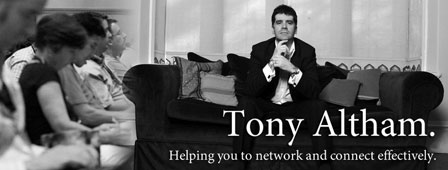 Tony Altham Networking Coach Speaker